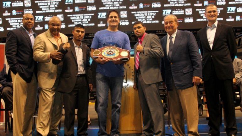 Garcia-Lopez kickoff press conference