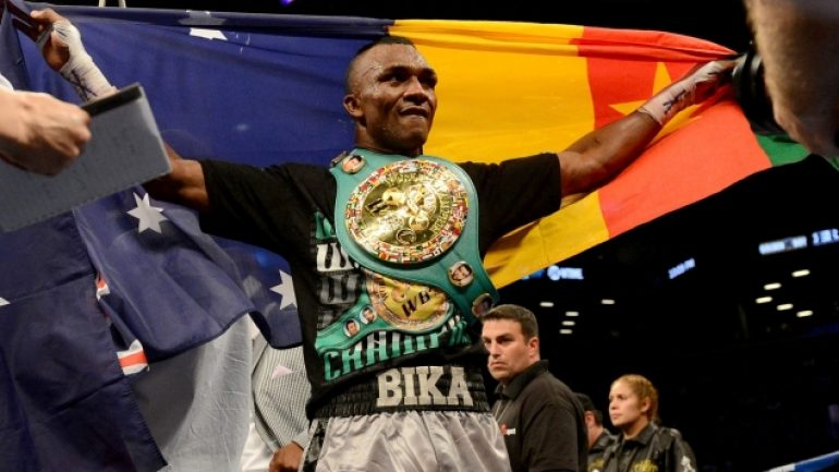 Sakio Bika: low-key, ignored and ticked-off