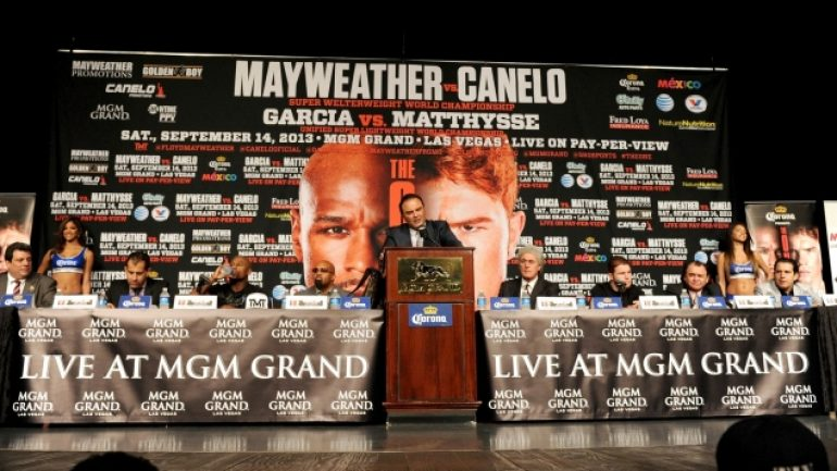 Mayweather-Alvarez final press conference