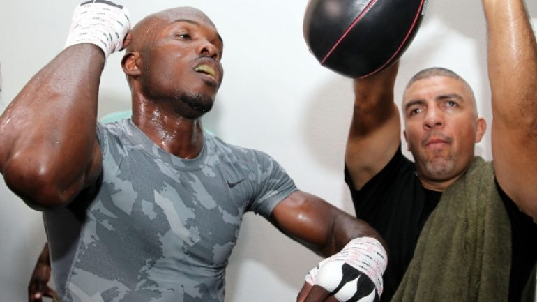 Tim Bradley workout 10-1-13