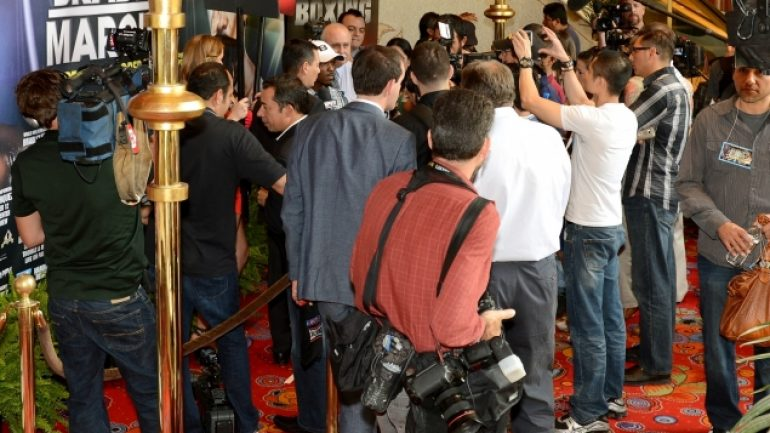 Bradley, Marquez arrive in Vegas