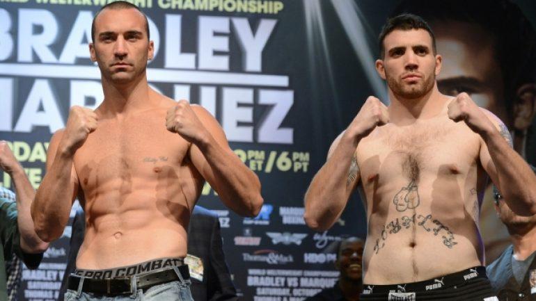 Bradley-Marquez weigh-in