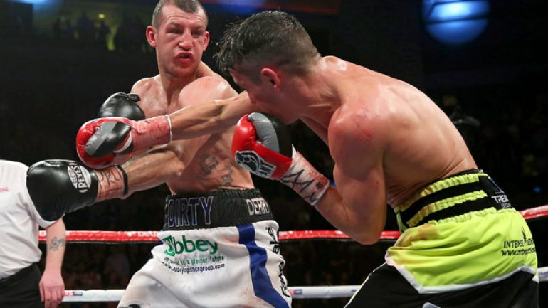 Derry Mathews has yet another new opponent, will face Tony Luis