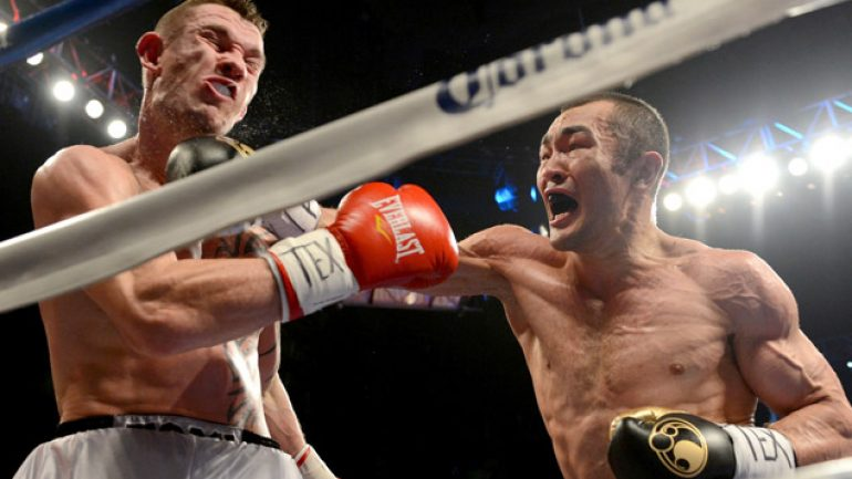 Beibut Shumenov to fight as cruiserweight on Alexander-Khan card