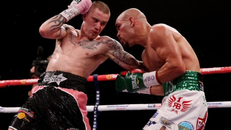 Ricky Burns vs. Terence Crawford set for March in Glasgow