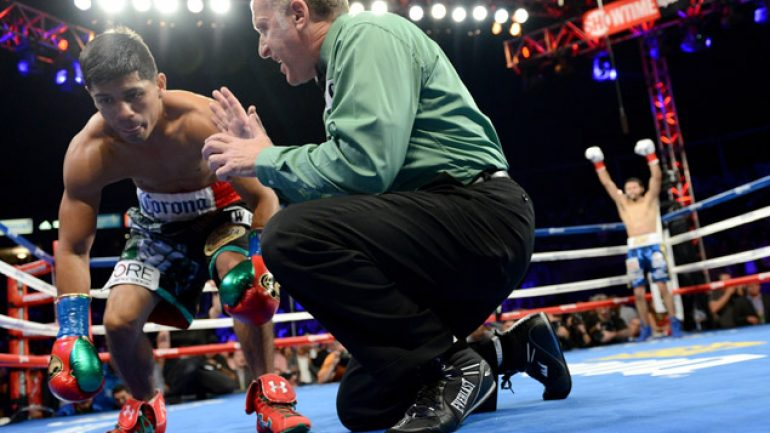 Manager: Abner Mares rib injury postpones rematch with Jhonny Gonzalez