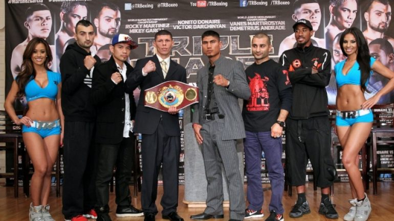 Tripleheader final press conference