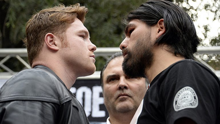 Fans support Alvarez, Angulo at presser but will they buy the PPV?