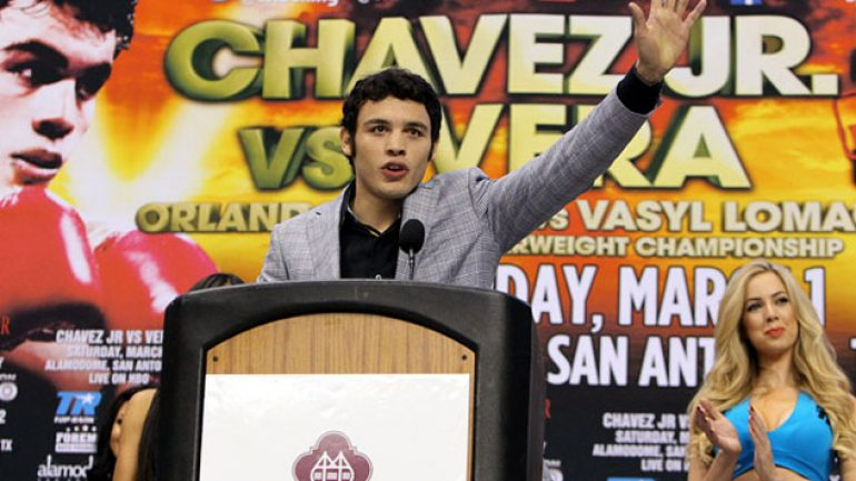 Photo gallery: Julio Cesar Chavez Jr.-Bryan Vera II press conference