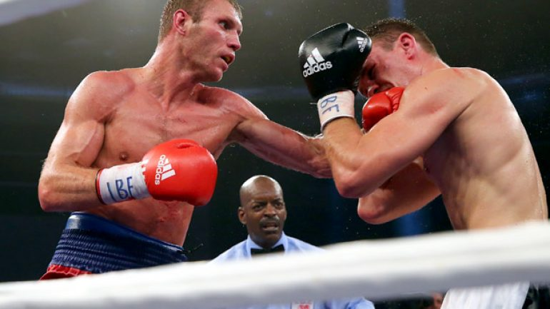 Anatoliy Dudchenko set on fighting Bernard Hopkins