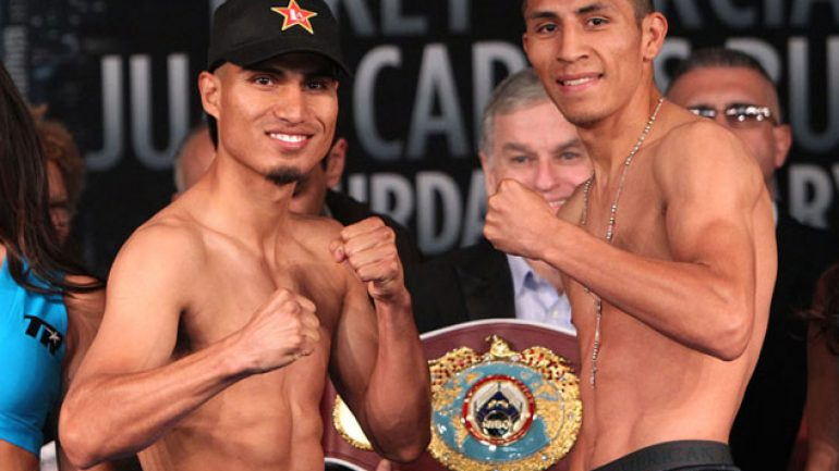 Photo gallery: Mikey Garcia-Juan Carlos Burgos weigh-in