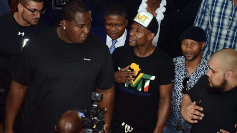 Could Floyd Mayweather fight in South Africa?