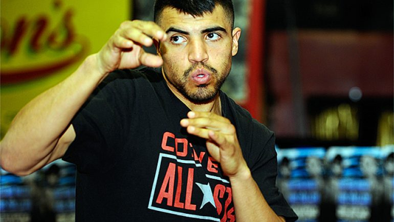 Don't call it a comeback: Victor Ortiz returns to boxing