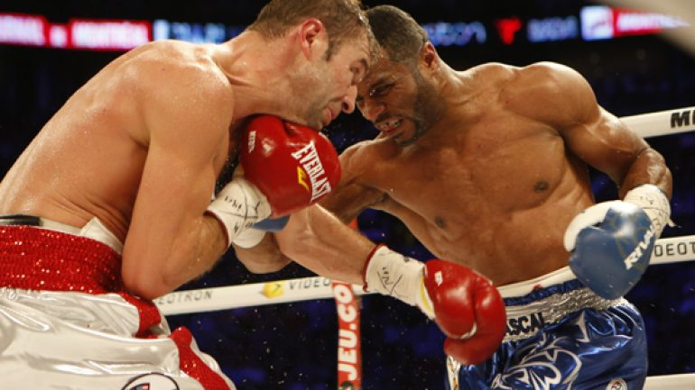 Photo gallery: Jean Pascal UD 12 Lucian Bute
