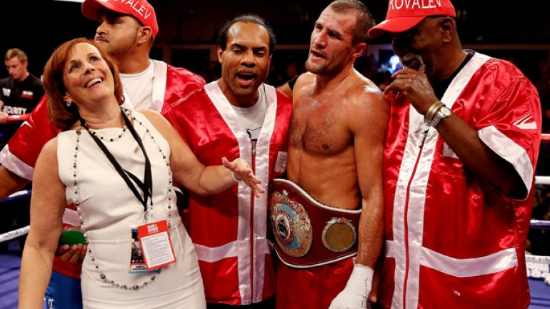 Manager: Sergey Kovalev 'is not a racist'