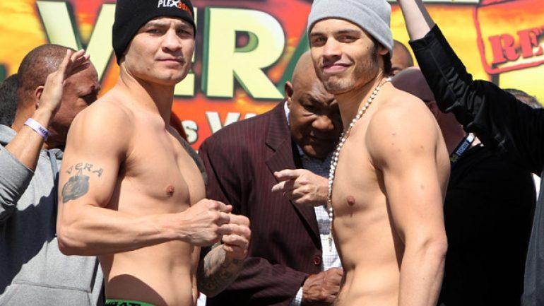 Julio Cesar Chavez Jr. UD 12 Bryan Vera live round-by-round updates
