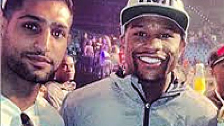 Amir Khan: Floyd Mayweather Jr. 'full of s–t'
