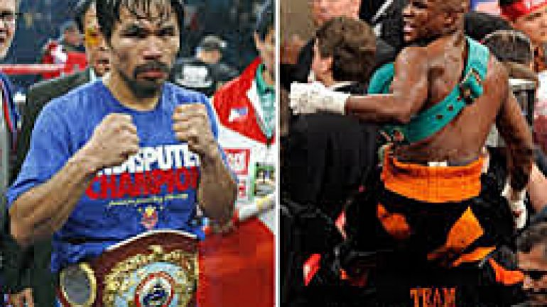 Manny Pacquiao: Floyd Mayweather Jr. has 'many alibis'