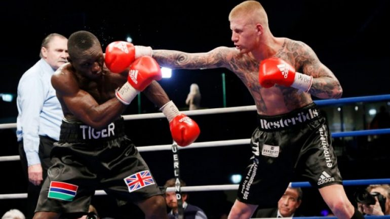 Denmark's Patrick Nielsen has sights set on big fights