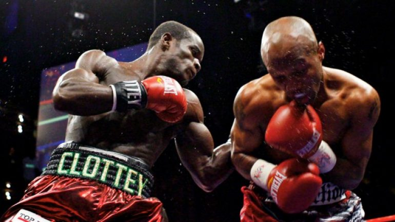 Joshua Clottey-Anthony Mundine slated for April 2