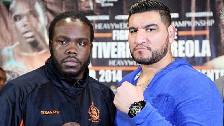 ESPN will stream Bermane Stiverne-Chris Arreola final presser