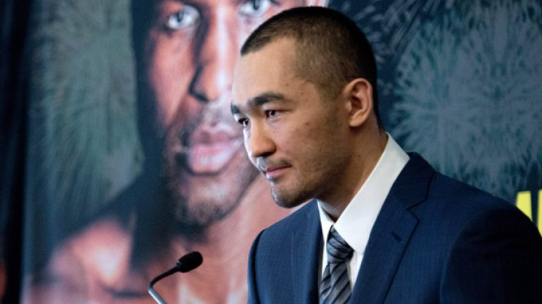 Beibut Shumenov has 'developed a style … to shock' Bernard Hopkins