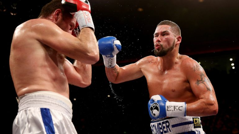 Tony Bellew talks upcoming Dos Santos fight (and rips Nathan Cleverly)