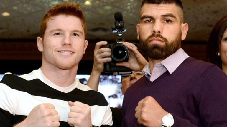 Showtime Sports to stream Canelo-Angulo press conference
