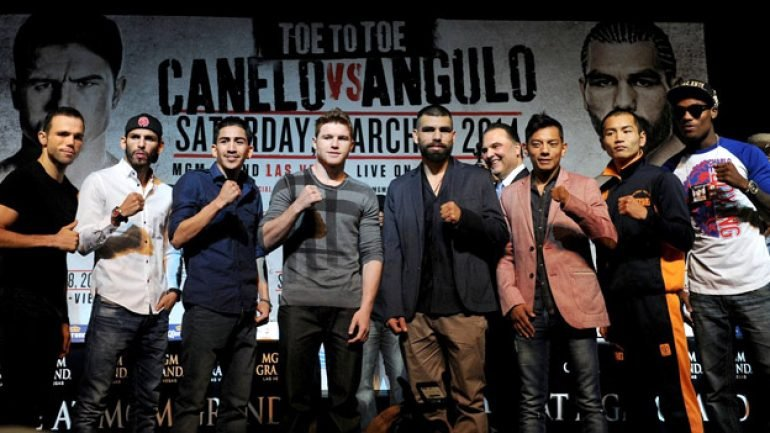 Photo gallery: 'Toe to Toe' final press conference