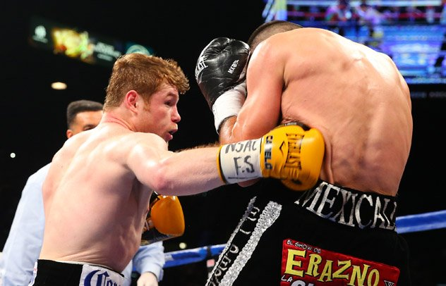 Image result for Canelo Alvarez body shots