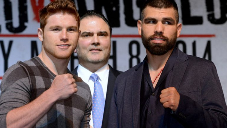 Virgil Hunter: Canelo Alvarez-Alfredo Angulo will be 'savage affair'