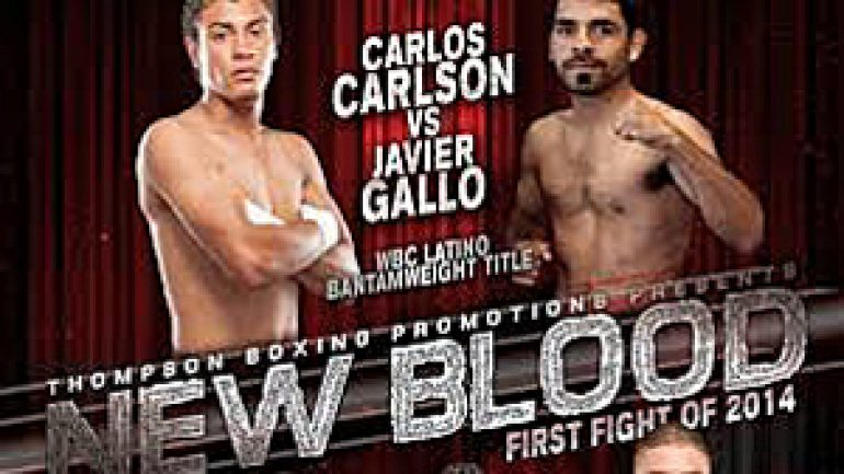 Carlos Carlson outpoints Javier Gallo in 'New Blood' main event
