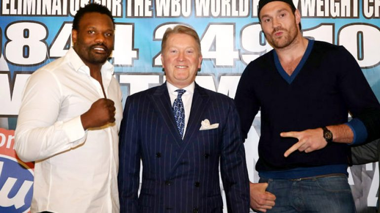 Tyson Fury vs. Dereck Chisora is off
