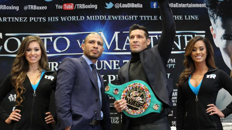 HBO's Miguel Cotto-Sergio Martinez 'Face Off' airs Saturday