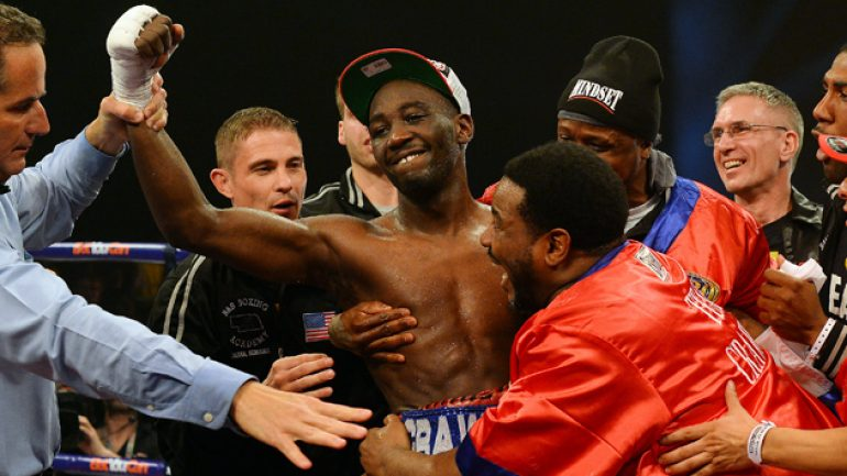Terence Crawford proves himself by outpointing Ricky Burns