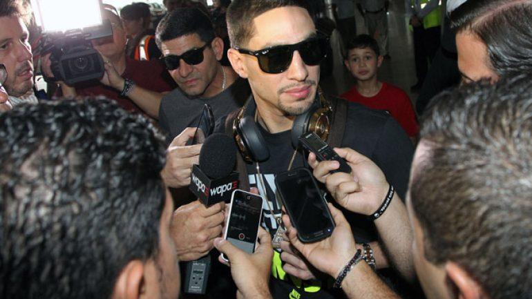 Danny Garcia lands in Puerto Rico