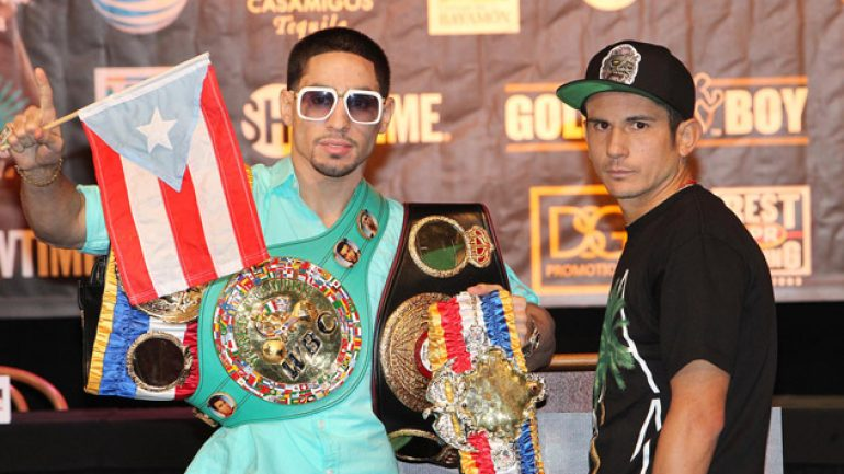 Danny Garcia, Mauricio Herrera heats up at weigh-in
