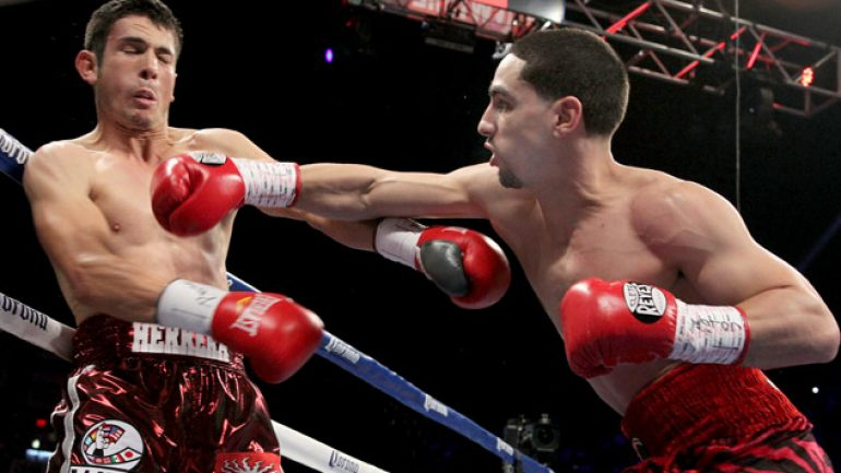 Danny Garcia's homecoming almost spoiled by Mauricio Herrera