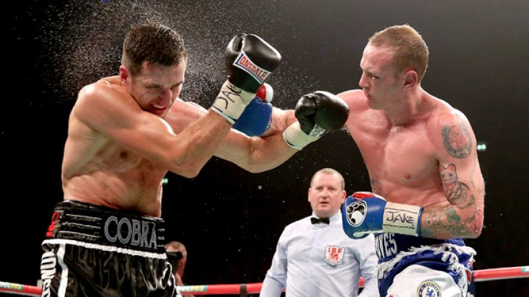 Who wins Carl Froch-George Groves II?