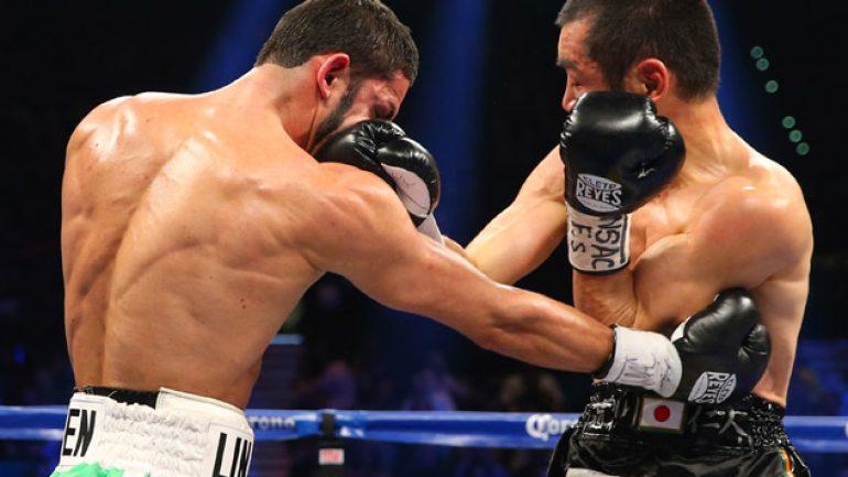 Jorge Linares easily outpoints Nihito Arakawa