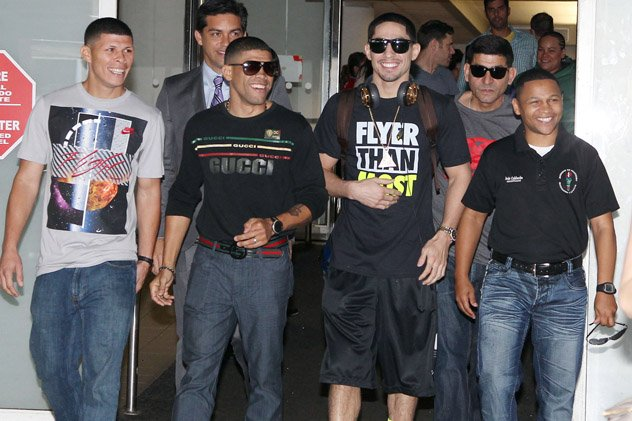 Martinez-Lopez-Danny-Angel-Calderon arrival casino showtime
