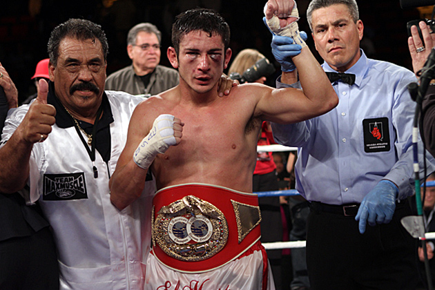 Mauricio Herrera was bruised but unbowed after upsetting hard-punching Ruslan Provodnikov in 2011.