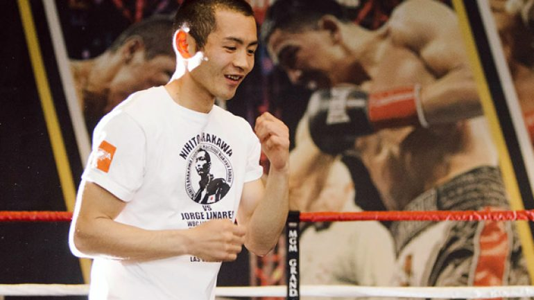 Nihito Arakawa brings his warrior spirit back to the U.S. vs. Jorge Linares