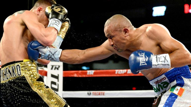Orlando Salido-Rocky Martinez aimed for March 21