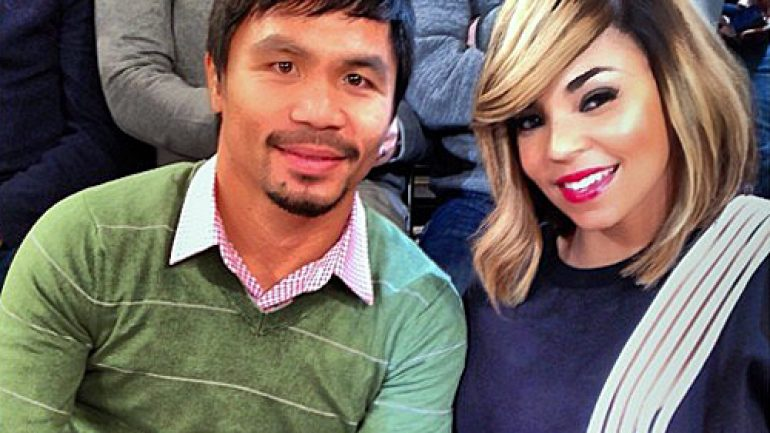 Manny Pacquiao fan Ashanti to sing national anthem at Bradley rematch