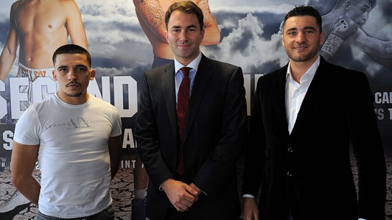 Welsh duo Nathan Cleverly, Lee Selby top May 17 card in Cardiff