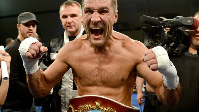 Sergey Kovalev: I would get in the ring with Bernard Hopkins right now