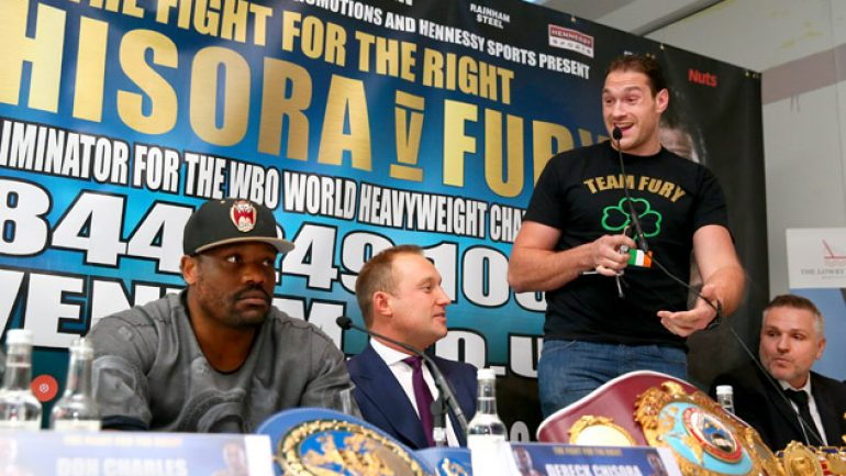 Who wins Tyson Fury-Dereck Chisora II?