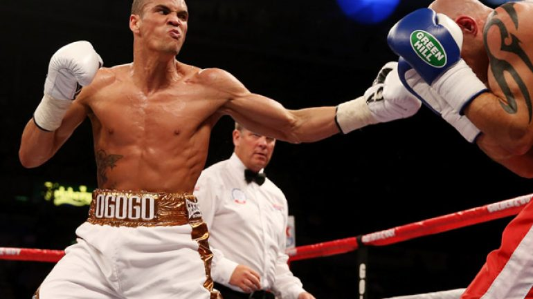 Former Olympian Anthony Ogogo returns this weekend