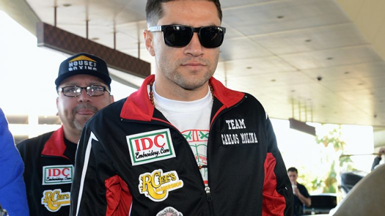 The 'other' Carlos Molina talks about fighting Adrien Broner